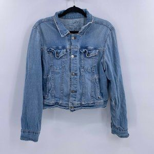 Free People M2F Made to Fade denim jean jacket M